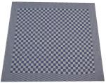 Essuie vaisselle+/- 70x65 cm 100% coton damier bleu et blanc