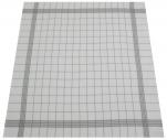 Essuie vaisselle+/-68x68cm 100% coton quadrillage gris très absorbant