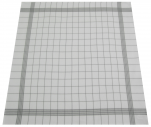 Towels for dishes +/-68x68cm 100% cotton gray grid highly absorbent