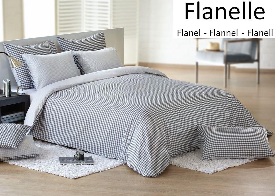 Bettbezug Und Kissenbezug 100 Baumwolle Flanell