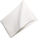 Towels for dishes waffle cloth 100% cotton white 75x50 cm 200 gr/m²