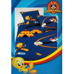 Duvet Cover 140x200+1 65x65 pillowcase Tweety - Sylvester apache 100%cotton
