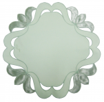 Round doily 30 cm diameter green dalton 65/35 polycotron Sander