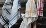 Towels for dishes cama 68X68cm 93% linen and 7% cotton especially glasses