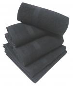 Serviette 50x90 cm spéciale coiffeur et esthétique 100% coton éponge gris