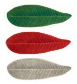 Bath Mat Leaf 65x185 cm 100% terry cotton 1900 gr/m²