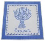 Hand towel 50x50 cm Lavender100% cotton jacquard
