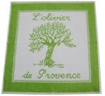 Essuie cuisine ou essuie main 50x50 cm L'olivier de Provence 100% coton jacquard