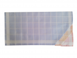 Mouchoirs Dame 2x3 couleurs 100% coton 33x32 cm : 1 paquet de 6 mouchoirs