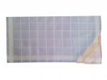 Ladies handkerchief 4x3 colors 100% cotton 33x32 cm : 1 pack of 12 handkerchiefs