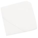 Cape de bain ou Sortie de bain 80x80 cm éponge 100% coton blanc ecru
