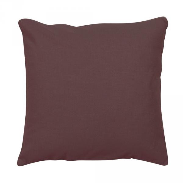 2 kissenbez ge uni duplex 100 baumwolle unsich. Black Bedroom Furniture Sets. Home Design Ideas