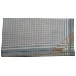 Mens handkerchiefs 2x3 colors 100% cotton 45x45 cm : 1 pack of 6 handkerchiefs