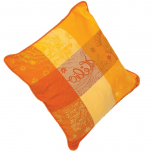 2 Cushion covers color sun 40x40 cm or 50x50 cm 100% cotton