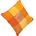 2 Housses de coussin couleur soleil 40x40 cm ou 50x50 cm 100% coton