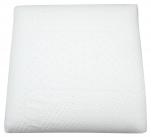 Oreiller 100% latex 55x55cm, housse de haute qualité amovible, lavable 95°C