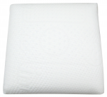 Pillow 55x55cm 100% latex, removable pillow covers, washable 95°C