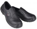 Chaussure S2 mixte noire embout composite antidérapant résiste huile antistat