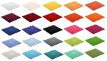 Tapis de bain carré 60x60 cm 100% coton couleur