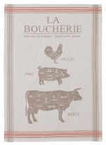 Towels for dishes Butchery 100% cotton jacquard 50x75 cm