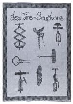 Towels for dishes corkscrews 100% cotton jacquard 50x75 cm