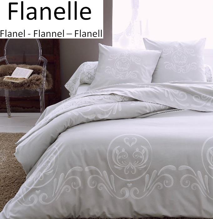 Bettbezug Kissenbezug 100 Baumwolle Flanell