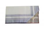 Mouchoirs Homme 2x3 couleurs 100% coton 45x45 cm : 1 paquet de 6 mouchoirs