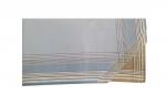 Mouchoirs Homme 2x3 couleurs 100% coton 42x42 cm : 1 paquet de 6 mouchoirs
