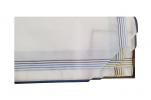 Mouchoirs Homme 2x3 couleurs 100% coton 43x43 cm : 1 paquet de 6 mouchoirs