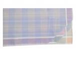 Ladies handkerchief 2x3 colors 100% cotton 33x33 cm : 1 pack of 6 handkerchiefs