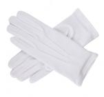 Gant de salle blanc 100% coton