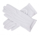 White glove in 100% cotton