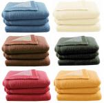 Wool blanket, 100% virgin wool woolmark isol, 700 gr/m²
