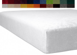 Fitted sheet stretch terry mattresses up to maximum 22cm