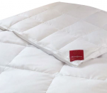 4 seasons duvet 90% down and 10% goose feather new white washable 60°C