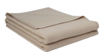 Blanket Laure 100% pure new Lamswool 380 gr/m² ivory