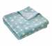 Stars soft blanket 75x100 or 100x150 cm microfiber 100% polyester
