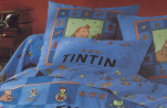 Flat sheet 240X300 + 2 pillowcase 63x63 Tintin Ottokar's Sceptre 100% cotton