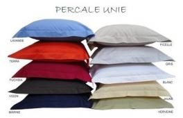 Pillowcase 65X65 cm 100% cotton percale easy to iron