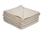 Light Blanket Merilin 20% linen and 80% merino wool 240 gr/m²