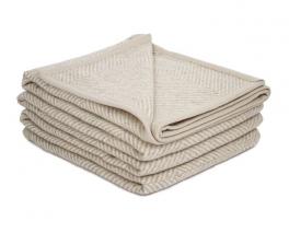 Couverture Mérilin, 20% lin et 80% laine
