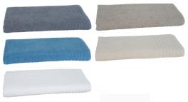 Bath towel 100x200 cm 100% terry cotton Bio Fairtrade Cotton 450 gr/m²