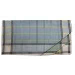 Ladies handkerchief 2x3 colors 100% cotton 33x32 cm : 1 pack of 6 handkerchiefs