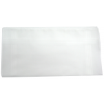 Ladies handkerchief white 100% cotton 30x30 cm : 1 pack of 6 handkerchiefs