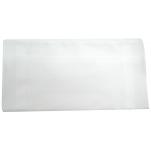 Ladies handkerchief white 100% cotton 30x30 cm : 1 pack of 6 handkerchiefs