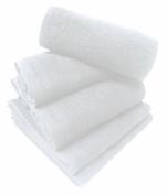 Serviette 50x80 cm spéciale coiffeur et esthétique 100% coton éponge blanc
