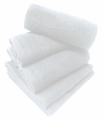 Towel 50x80 cm special hairdressers and beauty 100% terry cotton white