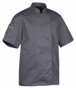 Veste de cuisine NER. manches courtes polycoton mixte