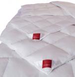 Couette classique 90% duvet et 10% plumettes d'oie neuf blanc lavable 60°C