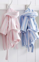 Children's Bathrobe with hood 100% cotton, velvet jacquard towellings, 360 gr/m²